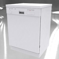 3d dishwasher model