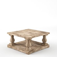 max balustrade salvaged coffee table
