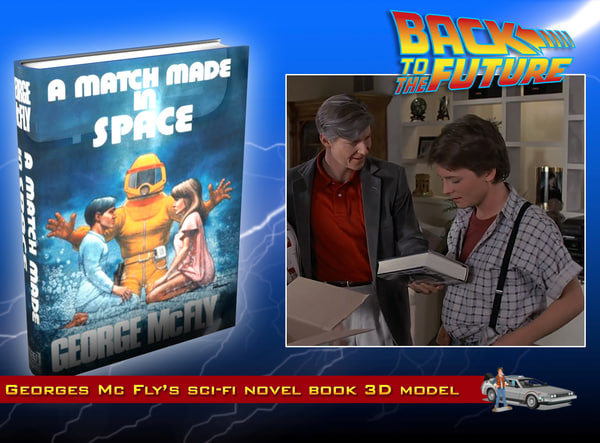 free mc fly novel book 3d model