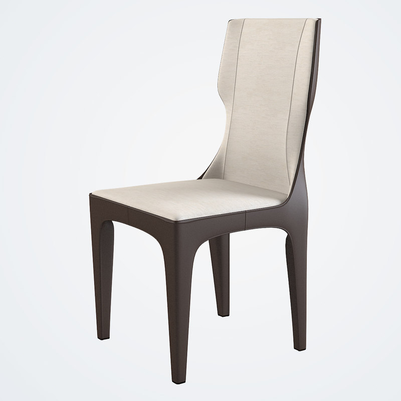b Giorgetti Tiche Dining Wing Chair wingback modern contemporary leather elegant 70300.jpg