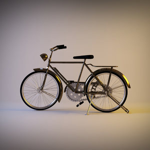 3ds max retro bike