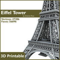 Eiffel Tower - 3D Printable