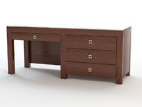 desk table 3ds