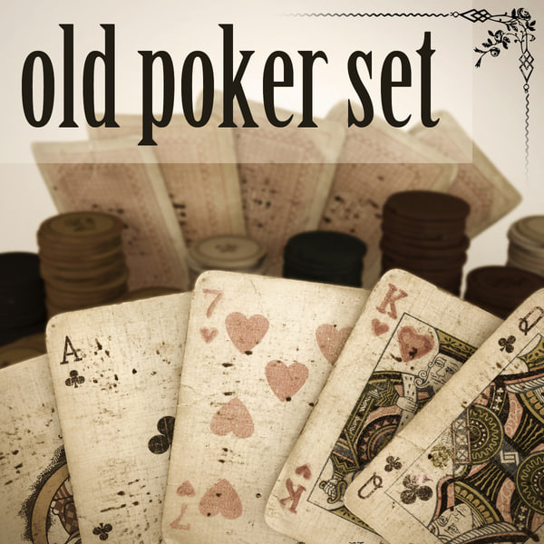 old timey poker set max