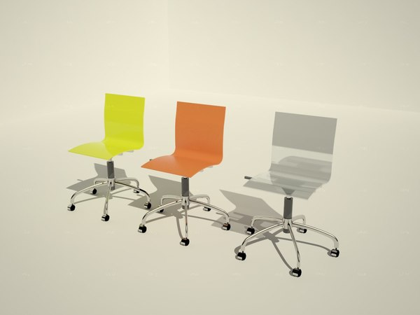 3d model gel domitalia chair