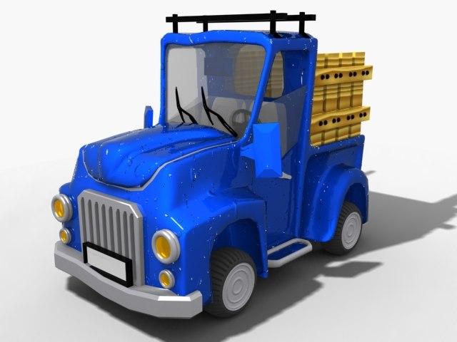 3d car toon cartoon