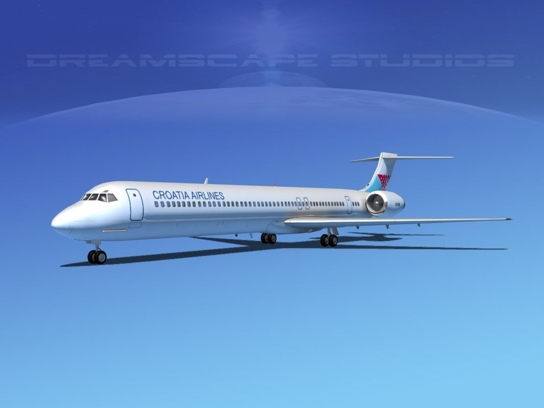 max mcdonnell douglas md-80 airliners