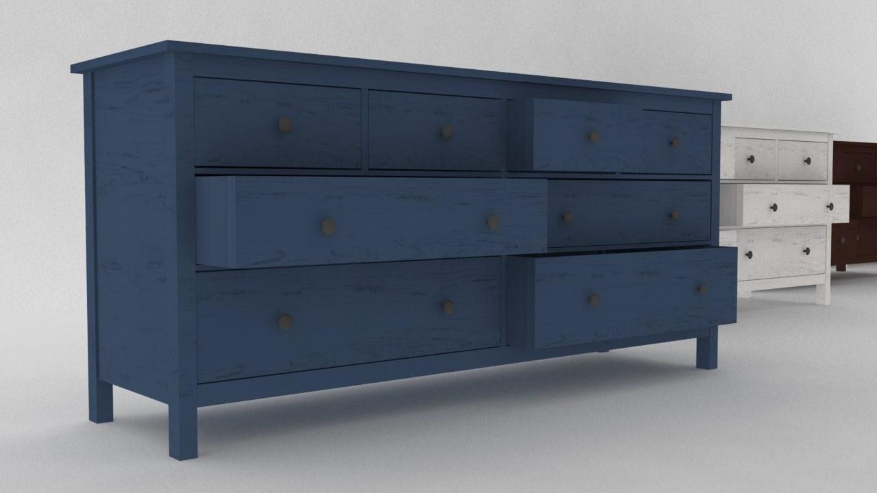 ikea hemnes 8 drawer max