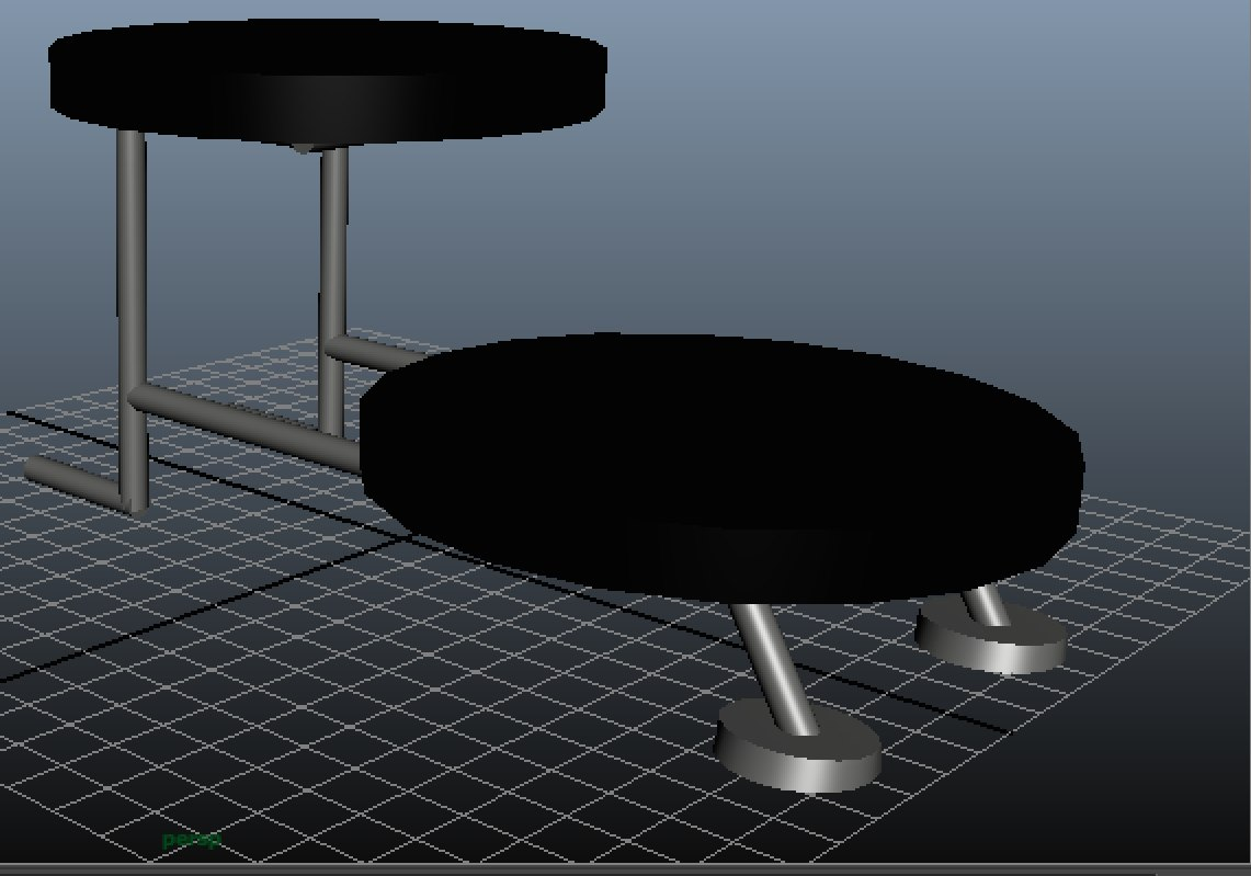 free fbx mode basic stand