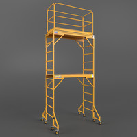 3d model scaffold tower
