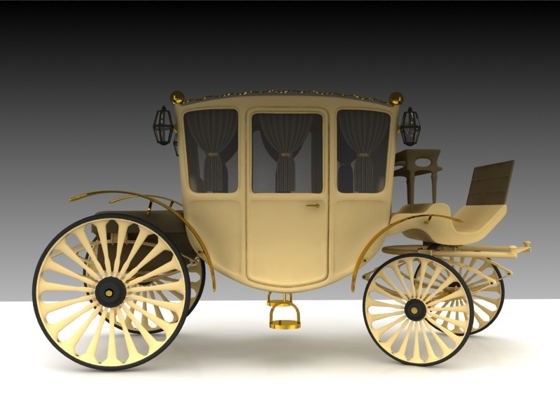 horse carriage max