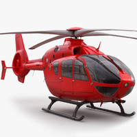 Eurcocopter EC 135 Private Red