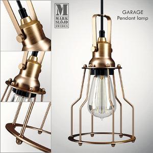 markslöjd garage pendant lamp max