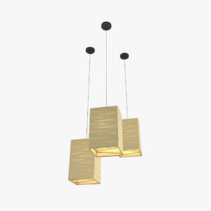 3d model paper lantern