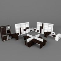 obj office furniture set