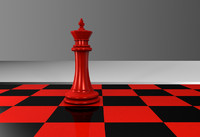 chess king 3d c4d