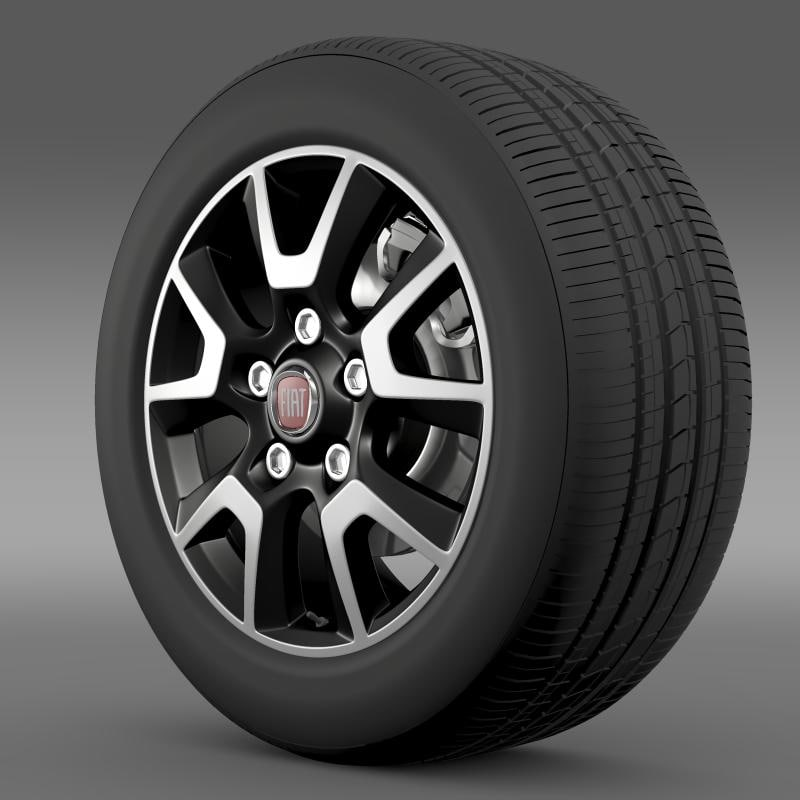 3d fiat ducato panorama wheel