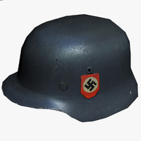 ww2 german stahlhelm 3d max