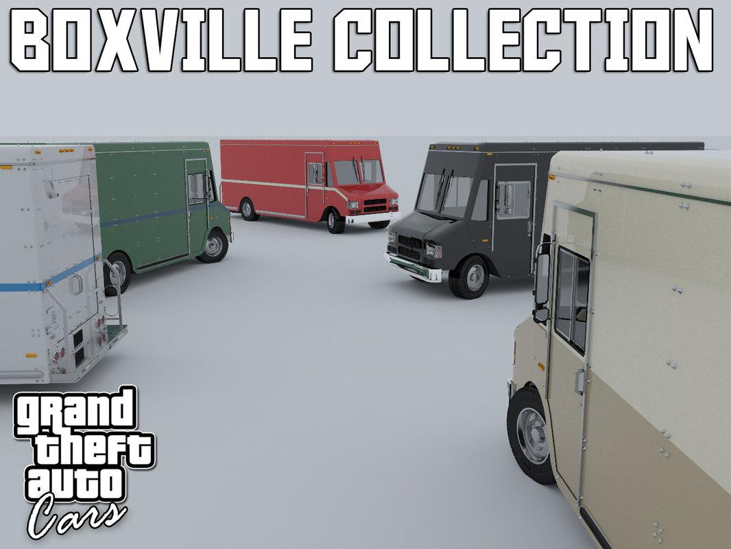 boxville compact standard 3d c4d