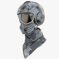 3ds max racing gear helmet