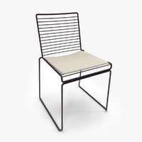 3d model hee dining chair