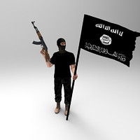 3d islamic fighter