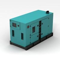 3ds generator blue