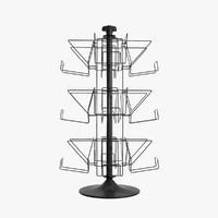 3d model book rack