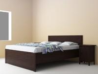 brusali bedroom set bed 3d max