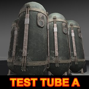 3ds max test tube
