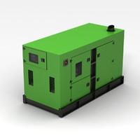 3d generator green model
