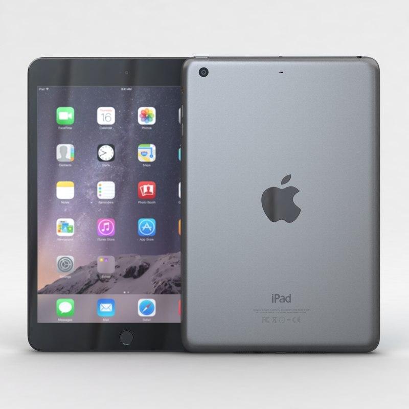3ds max apple ipad mini 3