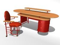 max johnson wax desk chair