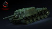 3d ussr isu-152