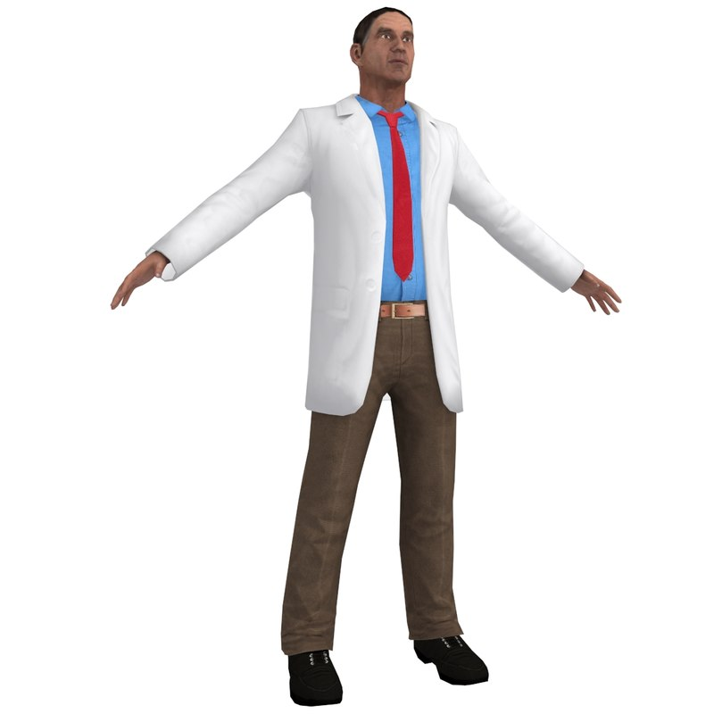 doctor games 3d obj