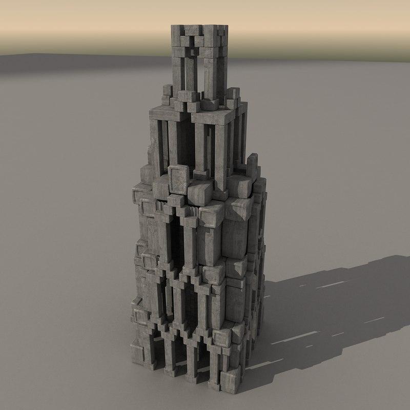 ancient fantasy building max