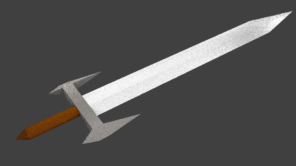 blender sword blend