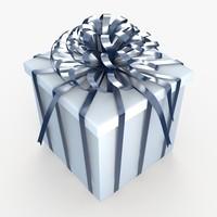 3dsmax christmas gift present box