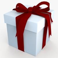 3d christmas gift present box