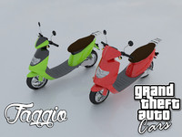 3ds faggio grand theft