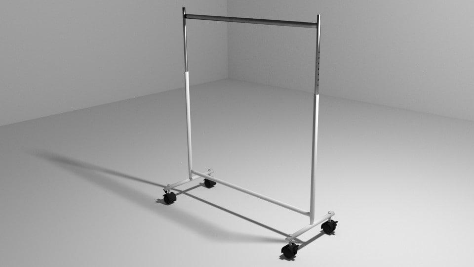 3d hanger display model