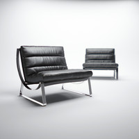 natuzzi-cammeo-chair 3d model