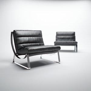 natuzzi-cammeo-chair 3d model