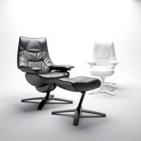 3d natuzzi-linear-armchair