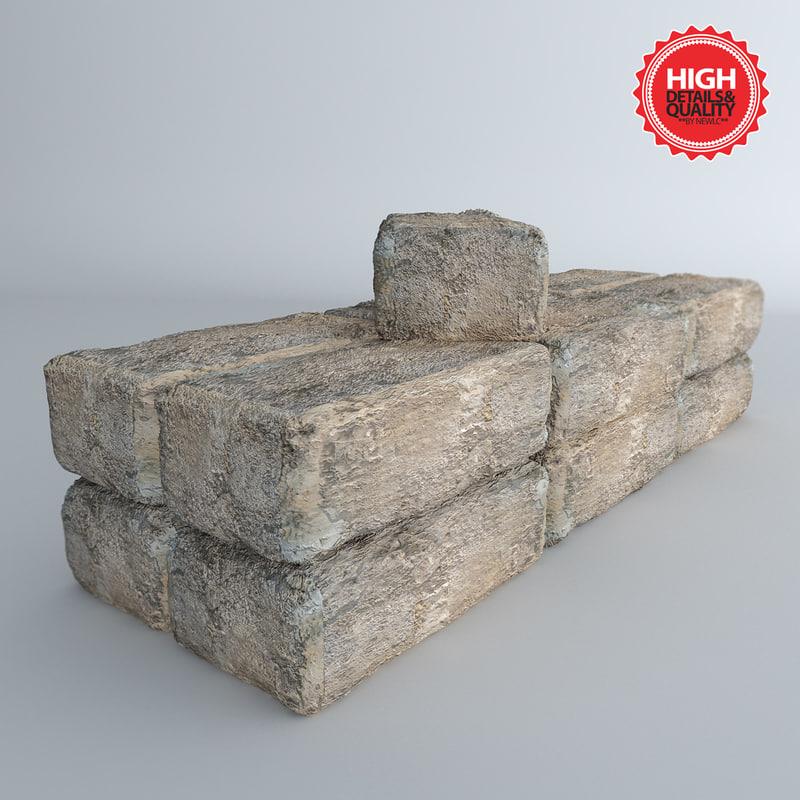 fbx bricks materials