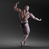 Bodybuilder (Rigged)