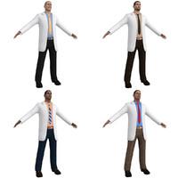 doctor games 3d model