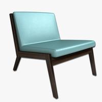 lounge chair obj