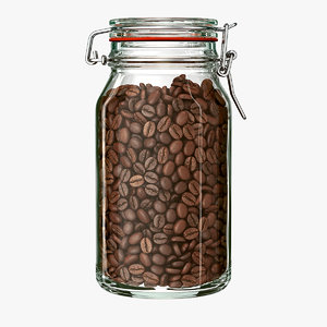 jar coffee beans