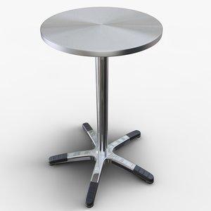 table pub 3d model